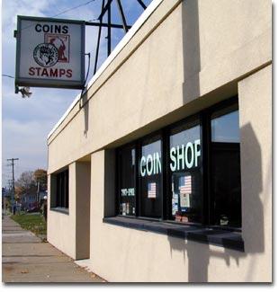 coin shop johnson city ny